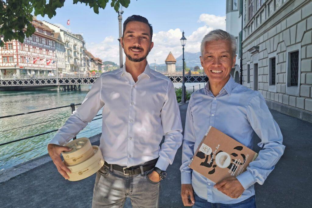 YUM CHA Gründer Oliver & Ronnie